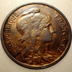 J.257 FRANTA 2 CENTIMES 1913 XF, Europa, Bronz