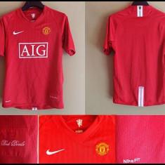 Tricou Fotbal Manchester United Rosu pentru copii - Echipament fotbal, Marime: One size