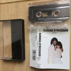 Barbra Streisand Barry Gibbs Guilty album 1980 caseta audio Muzica Pop Columbia balad, Casete audio