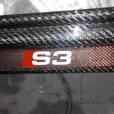 Ornamente interior Audi S3 Carbon negru/carbon+kevlar+titanium - Ornamente interioare auto NSSC Lighting