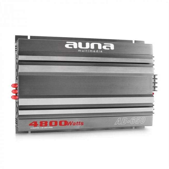 Amplificator de mașină AUNA AB-650 4800 Watt 6-Canale foto mare