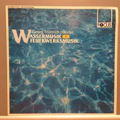 HANDEL - WATER MUSIC (1987/Deutsche Grammophone/RFG) - disc VINIL/Impecabil - Muzica Clasica deutsche harmonia mundi