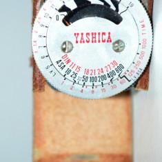 Expometru Yashica vechi pentru aparat Foto Yashica Electro 35 Camera YEM-15 - Echipament Foto Studio