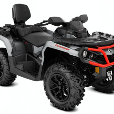 Can-Am Outlander MAX XT 650 Brushed Aluminum Can-Am Red '18 - ATV