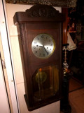 Pendula,ceas de perete antic marca Junghans german
