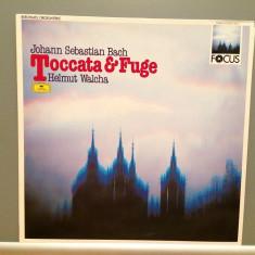 Bach -Toccata & Fugue - Helmut Walcha(1987/Polydor/RFG)- disc VINIL/Impecabil - Muzica Clasica deutsche harmonia mundi