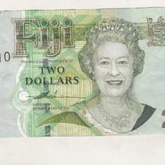 Bnk bn Fiji 2 dolari, Australia si Oceania