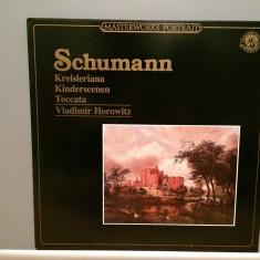 SCHUMANN - Kreisleriana/Toccata - HOROWITZ (1984/CBS/RFG) - disc VINIL/Impecabil - Muzica Clasica decca classics