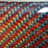 Ornamente interior fibra carbon/kevlar rosu BMW X6M