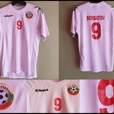 Tricou de fotbal Nationala Bulgariei - Berbatov pentru copii - Echipament fotbal, Marime: One size