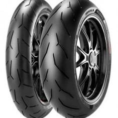 Motorcycle Tyres Pirelli Diablo Rosso Corsa ( 120/60 ZR17 TL (55W) M/C, Roata fata ) - Anvelope moto