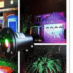 Star shower laser color exterior instalatie NOu HOLOGRAME !