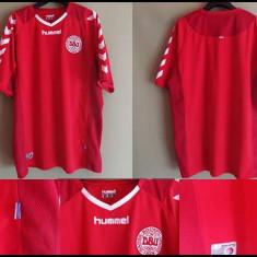 Tricou Fotbal Original XL Danemarca - Echipament fotbal