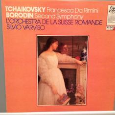 Tschaikowsky/Borodin -Francesca/Symph 2 (1981/Pickwick/UK)- disc VINIL/Impecabil - Muzica Clasica decca classics