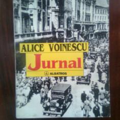 Alice Voinescu - Jurnal (Editura Albatros, 1997)