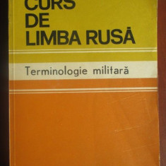 Curs de limba rusa Terminologie militara