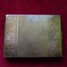 Tabachera argint masiv - Tabachera veche