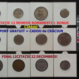 LICITATIE MONEDE ROMANESTI: 1924 - 1992 NECIRCULATE DE LA UN LEU + BONUS CRACIUN