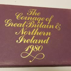 Set Monetarie - Marea Britanie si Irlanda de Nord 1980