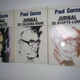 Paul goma jurnal vol. 1+2+3 - Istorie