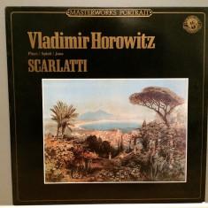 V.Horowitz plays Scarlatti - Sonatas (1985/CBS rec/RFG)- disc VINIL/Impecabil - Muzica Clasica Columbia