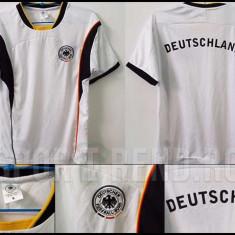 Tricouri de suporteri Naționala Germaniei S și M - Echipament fotbal, Marime: S/M