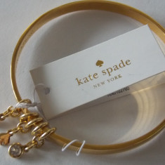 "Bratara placata cu aur "" Kate spade"" -2254 - Bratara Fashion"