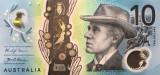 Bancnota Australia 10 Dolari 2017 - PNew UNC ( polimer )