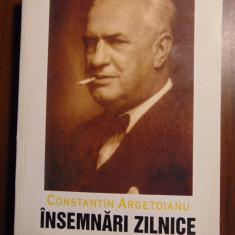 Insemnari zilnice, vol 9 (aprilie - decembrie 1941) - Constantin Argetoianu - Istorie