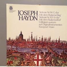 Haydn - Symph 94 & 103 - Franzjosef Maier (1980/Orbis/RFG)- disc VINIL/Impecabil - Muzica Clasica deutsche harmonia mundi
