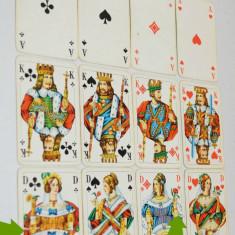 Pachet dublu de carti de joc Romme, Canasta Vass Germania Ges Ghesch - Carti poker