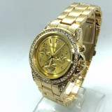 Ceas dama MICHAEL KORS MK3040 gold (Poze reale, Garantie), Mecanic-Automatic