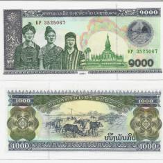LAOS- 1000 KIP 2003- UNC!!