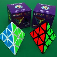 Profesional Pyraminx - ShengShou Aurora - Cub Rubik 3x3x3
