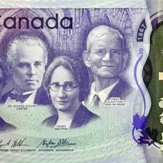 Bancnota Canada 10 Dolari 2017 - PNew UNC ( polimer - comemorativa ) - bancnota america