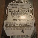 Hard-disk / HDD SATA TOSHIBA 160GB MK1652GSX Defect -Sectoare realocate - HDD laptop Toshiba, 100-199 GB