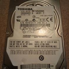 Hard-disk / HDD SATA TOSHIBA 160GB MK1652GSX Defect -Sectoare realocate, 100-199 GB