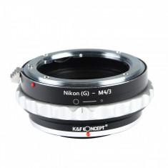 Adaptor montura Kent Faith Nikon G-Micro 4/3 - Inel adaptor obiectiv foto