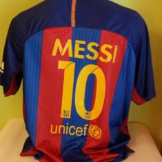 SET ECHIPAMENT MESSI F.C.BARCELONA 2016+JAMBIERE SI FES CADOU - Echipament fotbal, Marime: XS