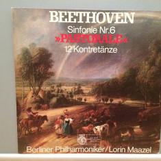 Beethoven - Symphony no 6 - Berliner Philharm. (1978/Orbis/RFG)- VINIL/Impecabil, deutsche harmonia mundi