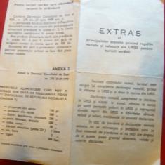 Extras al principalelor aspecte -Reguli vamale si valutare ale URSS pt turisti - Reclama Tiparita