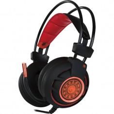 Casti gaming Marvo HG9012 Red - Casca PC