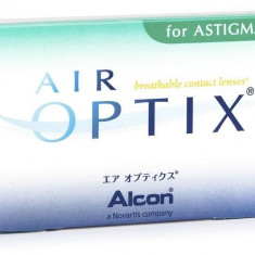 Lentile Alcon / Ciba Vision Air Optix for Astigmatism lunare 3 lentile / cutie