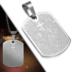 Medalion barbati B3410 - Pandantiv inox