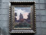 Cumpara ieftin Peisaj de Weith Laszlo, pictor Baia Mare, Peisaje, Ulei, Altul