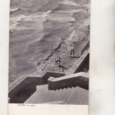 Bnk cp Eforie - La plaja- circulata - Carte Postala Dobrogea dupa 1918, Printata