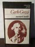 CARLO GOZZI -MEMORII INUTILE