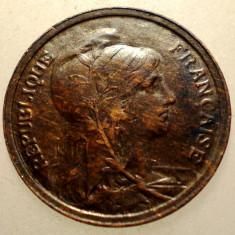 J.255 FRANTA 1 CENTIME 1908, Europa, Bronz