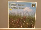 Schubert/Beethoven- Trout Quintett/Spring....(1987/Polydor/RFG)- VINIL/Impecabil, deutsche harmonia mundi