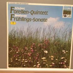 Schubert/Beethoven- Trout Quintett/Spring....(1987/Polydor/RFG)- VINIL/Impecabil - Muzica Clasica deutsche harmonia mundi